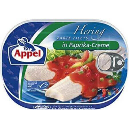 Appel Herring Fillets in Paprika Cream Sauce 200g