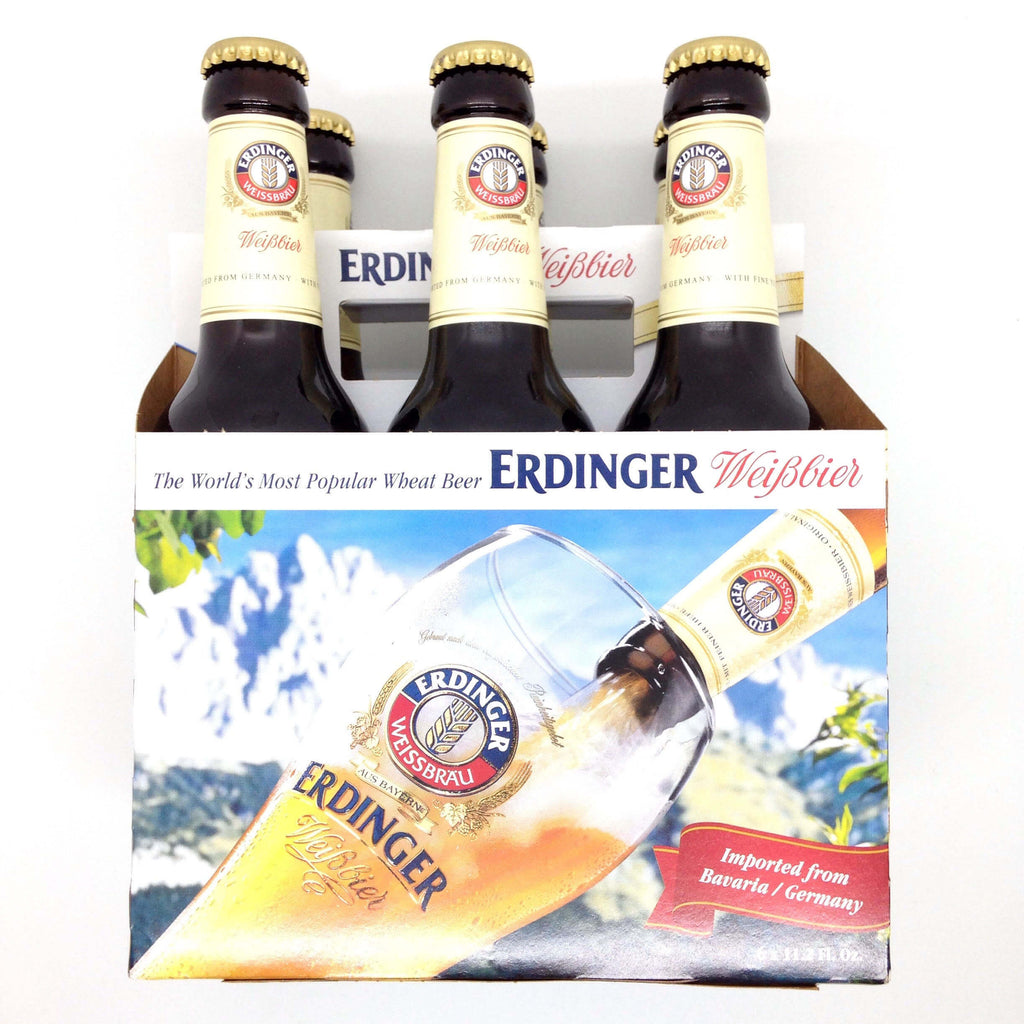 Erdinger Wheat Beer (Pack of 6 x 330ml) 3.3kg