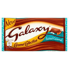 Mars Galaxy Salted Caramel Bar 135g