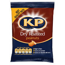 KP Original Dry Roasted Peanuts 50g