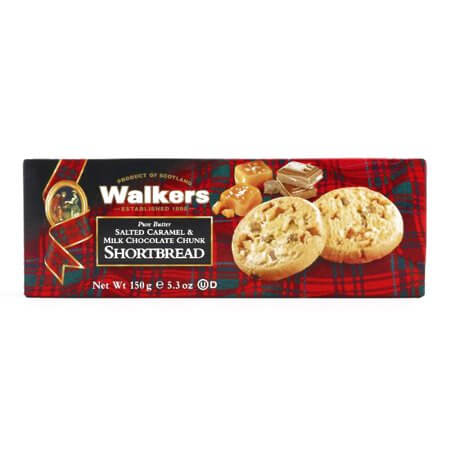 Walkers Salted Caramel and Milk Chocolate Chip Shortbread 133g