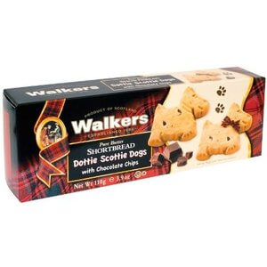 Walkers Shortbread - Scottie Dogs with Chocolate Chip Cookies - Dottie Dogs 110g