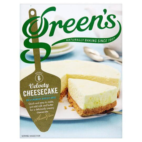 Greens Cheesecake Velvety Mix (Serves 6) 259g