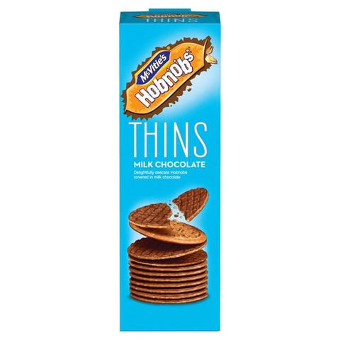McVities Hob Nobs - Thins Milk Chocolate 170g