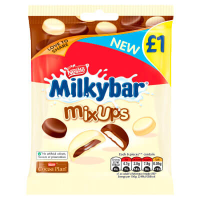 Nestle Milkybar - Mix Ups 95g