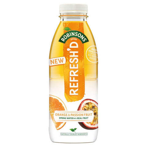 Robinsons Refreshed  - Orange and Passion Fruit Ready to Drink Bottle 500ml