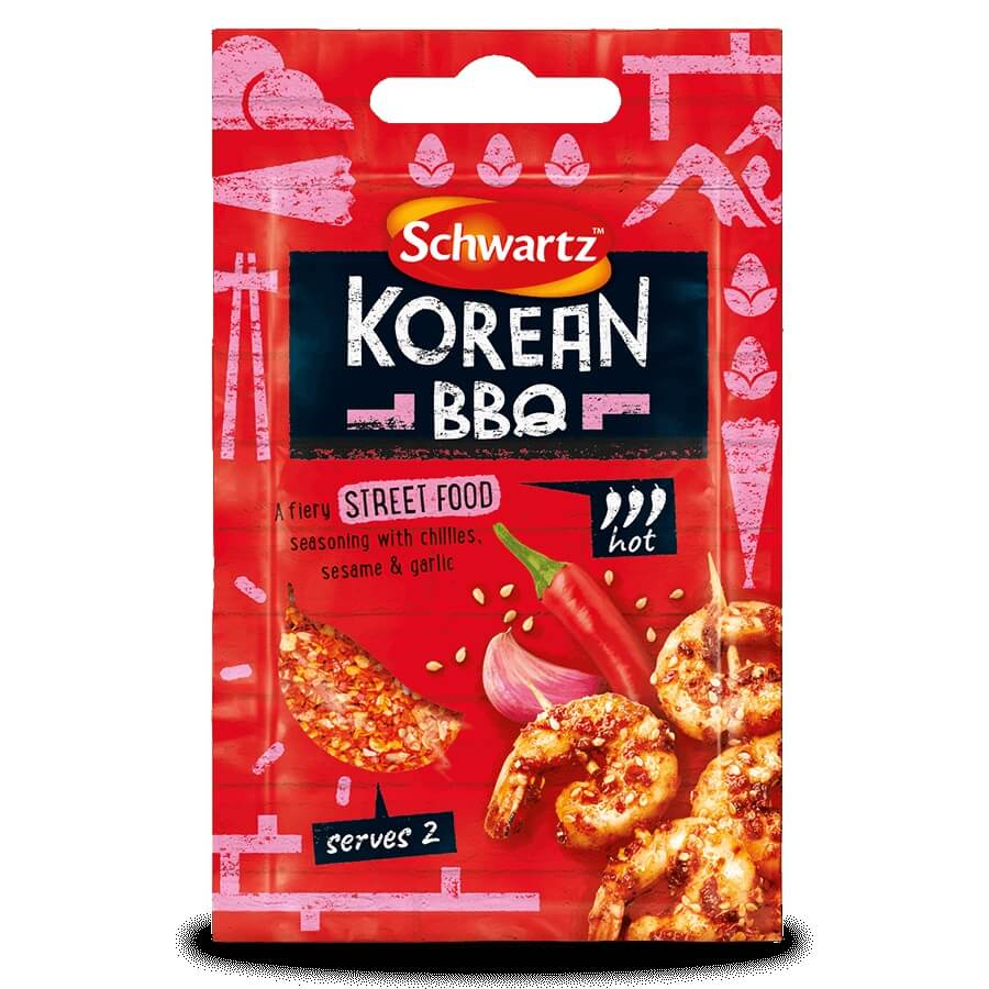 Schwartz Korean BBQ Street Food Seasoning 14g