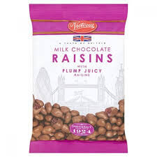 Victoria Milk Chocolate Raisins 175g