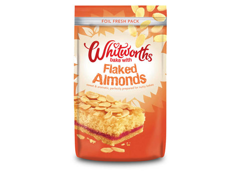 Whitworths Nuts - Flaked Almonds 150g