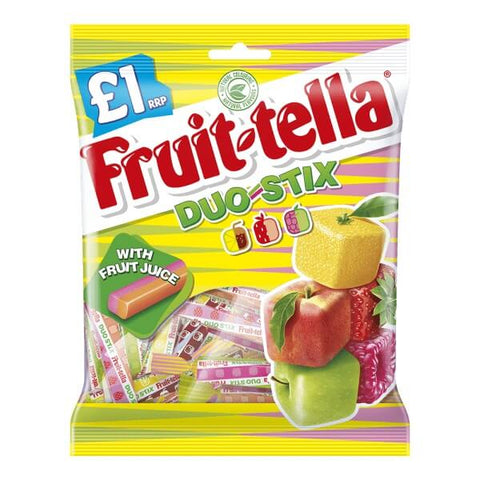 Fruitella Duo Stix 135g