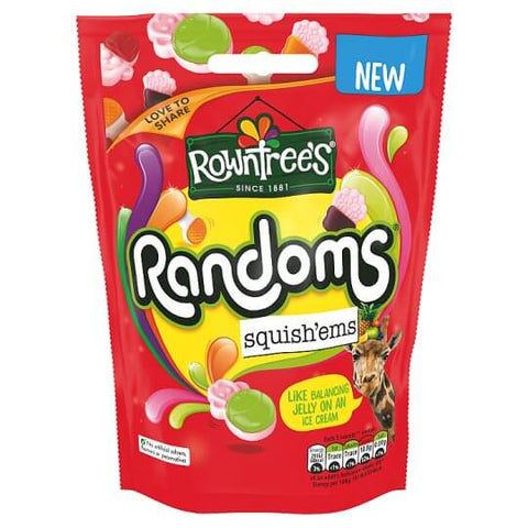 Rowntrees Randoms - Squish-ems  140g