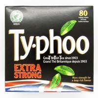 Typhoo Tea - Extra Strong (Pack of 80 Tea Bags) 250g