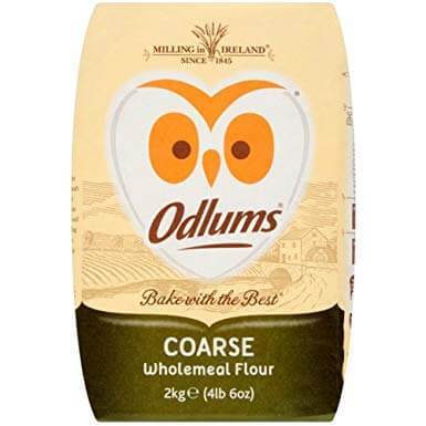 Odlums Stoneground Coarse Wholemeal Flour 2kg