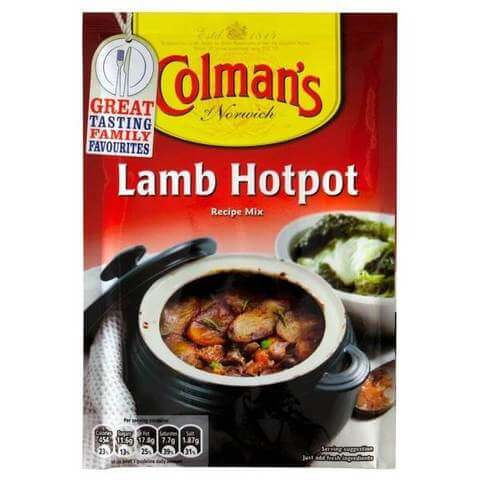 Colmans Lamb Hotpot Seasoning Mix 41g