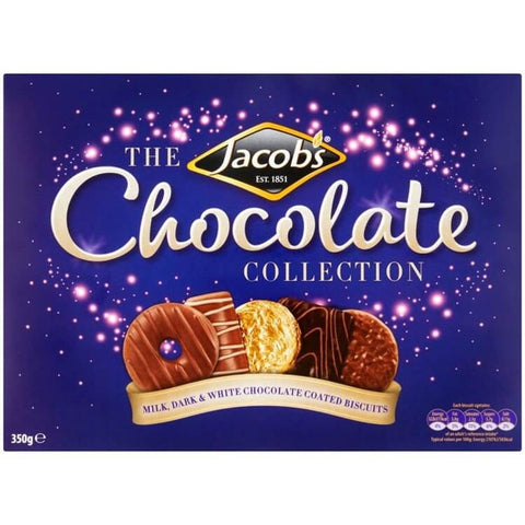 Jacobs  Chocolate Collection Biscuits Carton 350g
