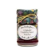 Mrs Darlingtons Cranberry Sauce With Port 200g