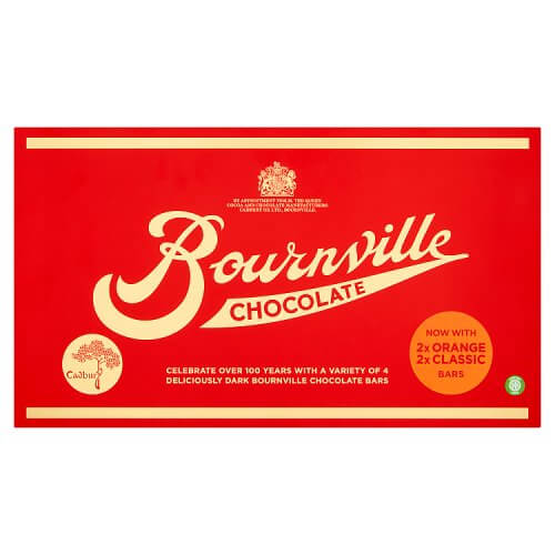 Cadbury Bournville Retro Selection Box 400g