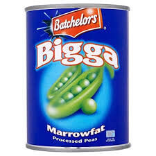 Batchelors Peas - Bigga Marrowfat Large Tin 538g