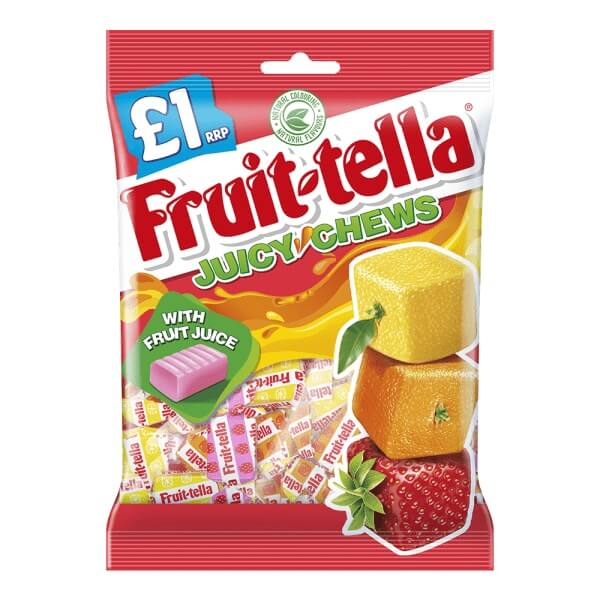 Fruitella Juicy Chews 135g