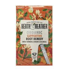 Heath and Heather Tea - Organic Supportive Root Remedy (Pack of 20 Envelope Bags) 30g
