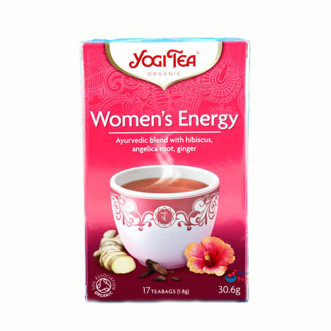 Yogi Tea - Womens Energy Organic (Pack of 17 Tea Bags) 30.6g