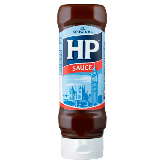 HP Sauce Top Down Squeezy Bottle 450g