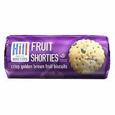 Hill Biscuits - Fruit Shortcake 250g