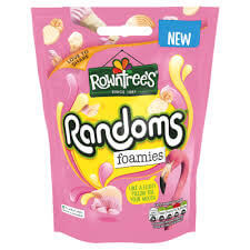 Rowntrees Randoms - Foamies 140g