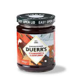 Duerrs Jam - Raspberry and Orange Conserve 340g