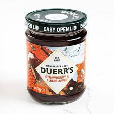 Duerrs Jam - Strawberry and Elderflower Conserve 340g