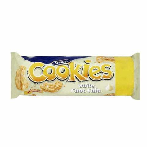 McVities Biscuits - White Chocolate Chip 150g