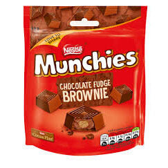 Nestle Munchies - Chocolate Fudge Brownie Pouch 104g