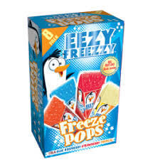 Swizzels Eezy Freezzy Freeze Pops (Pack of 5 Push Pops) 280ml