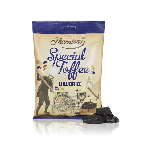 Thorntons Special Toffee - Liquorice Flavor Bag 300g
