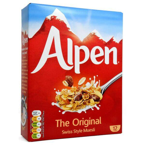 Alpen Muesli - Original Medium Box 550g