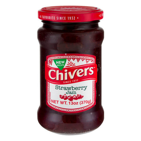 Chivers Jam - Strawberry 370g
