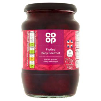 Co-Op Baby Beetroot in Vinegar 340g