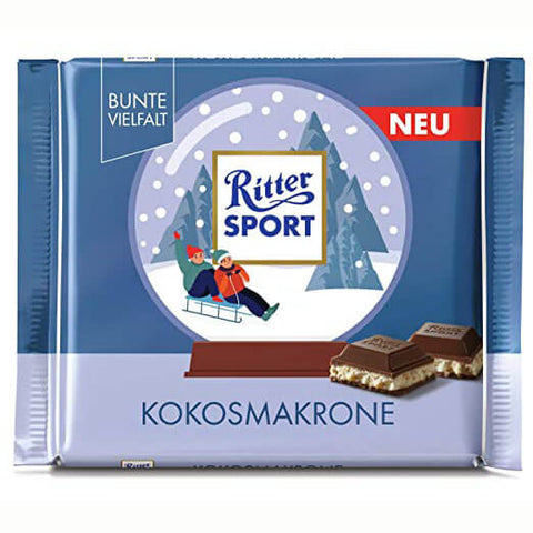 Ritter Sport Winter Edition - Coconut Macaroon 100g