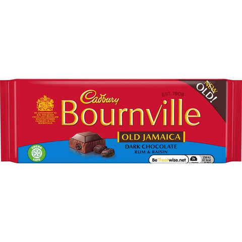 Cadbury Bournville - Old Jamaica Chocolate Bar 100g