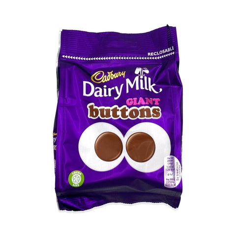 Cadbury Dairy Milk - Giant Buttons Bag 95g