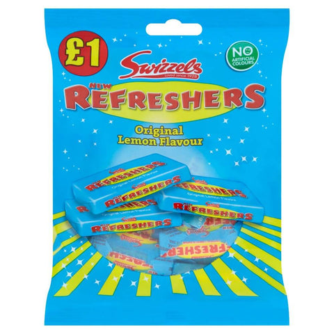 Swizzels Refreshers Original Lemon Flavour Bag 150g