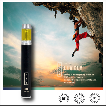 Lively | Flint CBD Vapor Pen