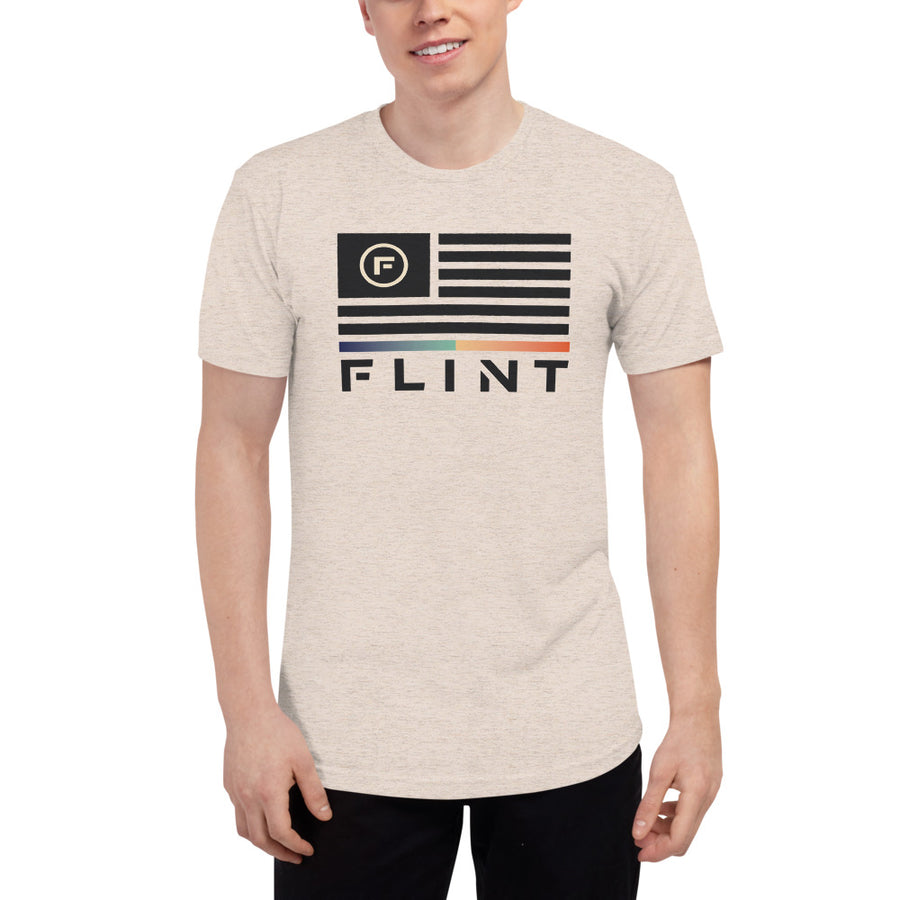 Flint Flag Tri-Blend Track Shirt