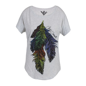 Women's Feather Dolman-Chris Cornell