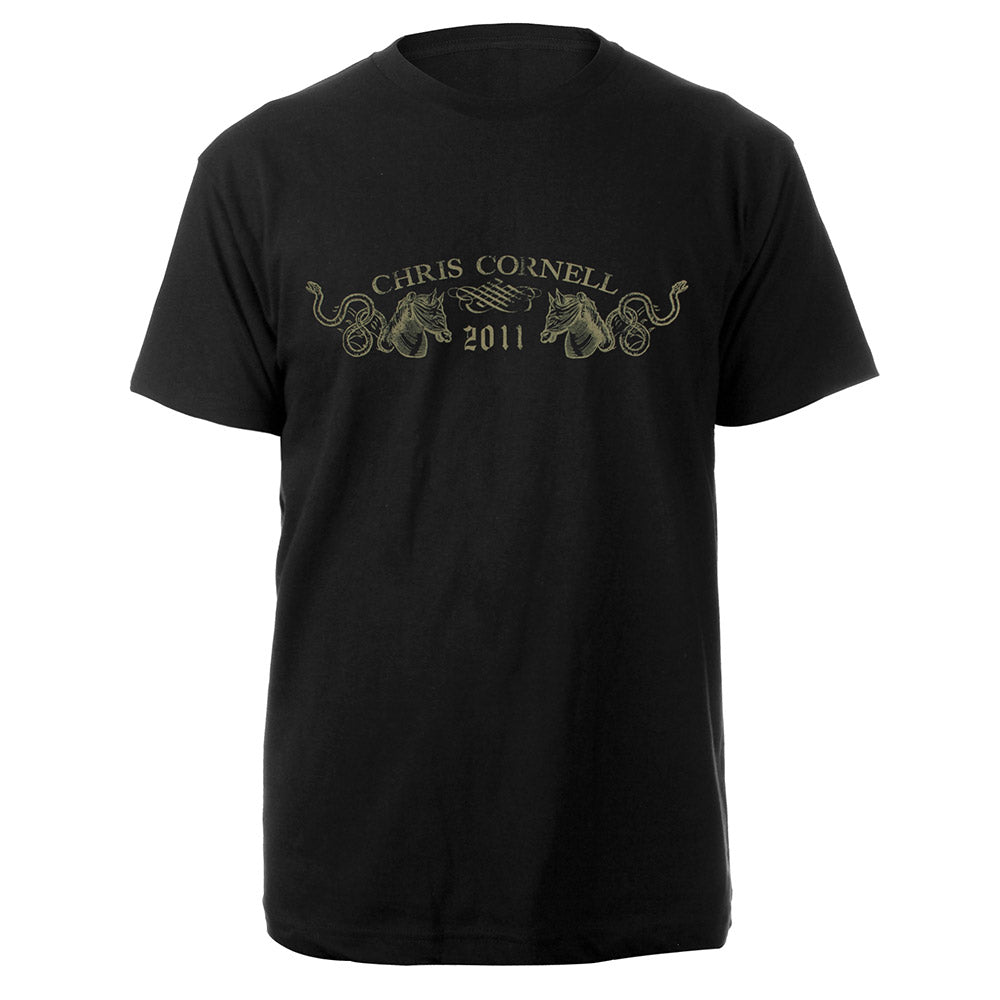 Horse Logo T-shirt-Chris Cornell