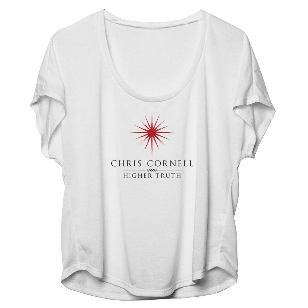 Higher Truth Slouchy T-shirt-Chris Cornell