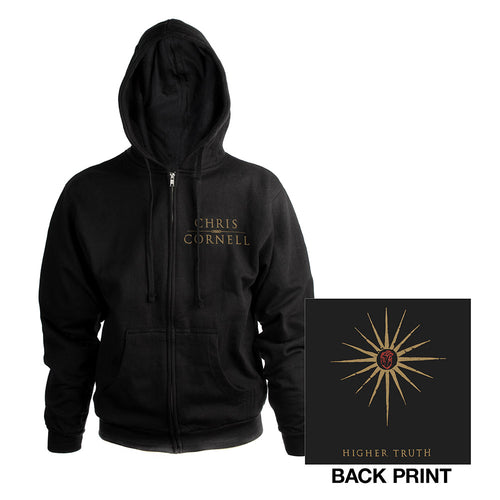 Higher Truth Zip Hoody-Chris Cornell