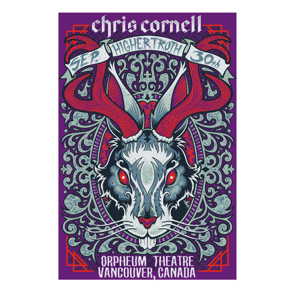 Higher Truth Vancouver Poster-Chris Cornell