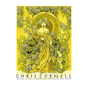 Higher Truth New Brunswick Poster-Chris Cornell