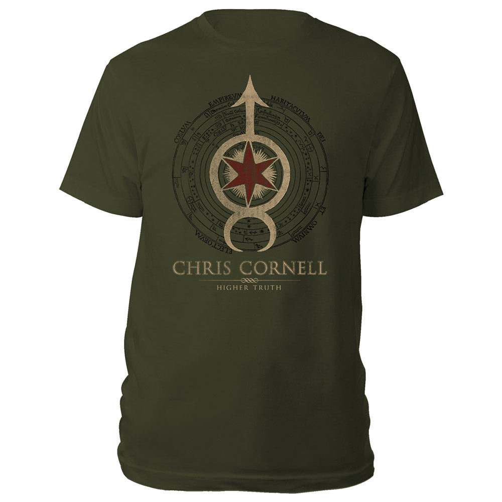 Star Arrow Higher Truth T-shirt-Chris Cornell